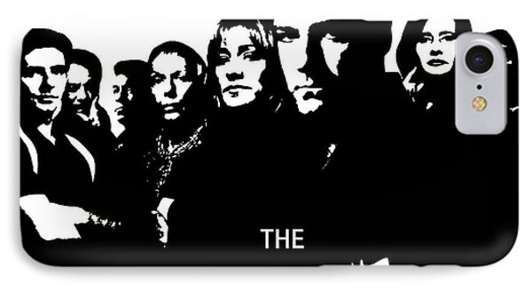 The Sopranos Poster IPhone Case by Dan Sproul