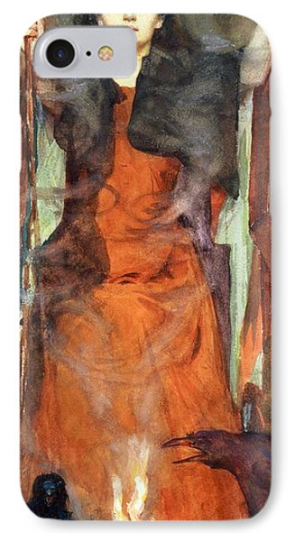 The Sorceress IPhone 7 Case by Henry Meynell Rheam