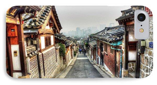 The Soul Of Seoul Phone Case by Michael Garyet