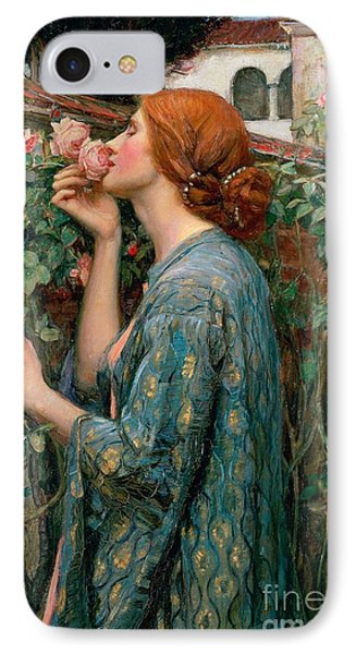 Flowers iPhone 7 Case - The Soul Of The Rose by John William Waterhouse