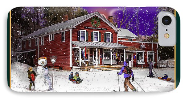 The South Woodstock Country Store IPhone Case by Nancy Griswold