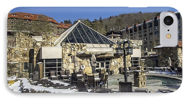 The Spa At The Omni Grove Park Inn IPhone Case by David Oppenheimer