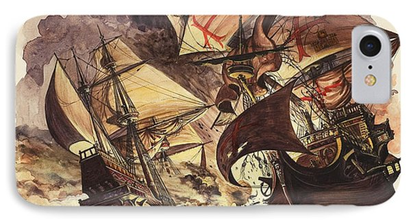 The Spanish Armada IPhone Case by Peter Jackson
