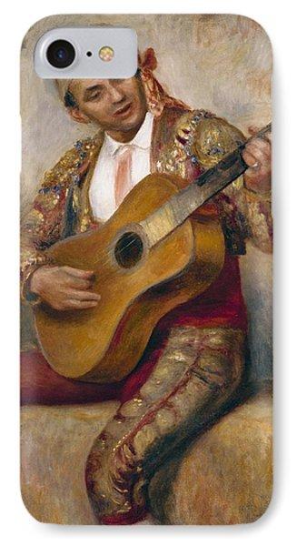 The Spanish Guitarist IPhone Case