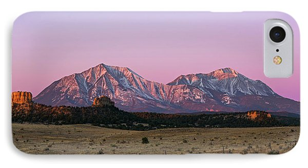 The Spanish Peaks IPhone Case by Aaron Spong