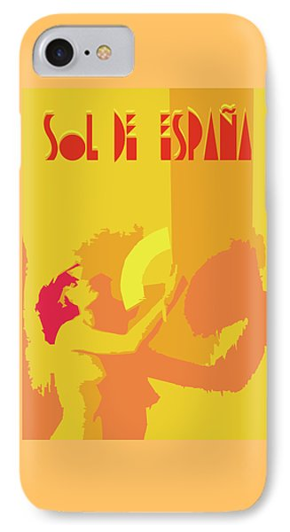 The Spanish Sun  IPhone Case by Joaquin Abella