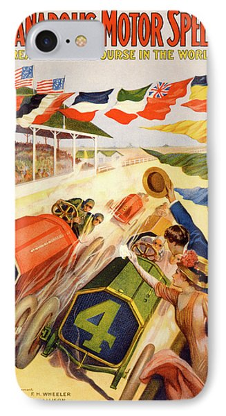 The Speedway IPhone Case by Gary Grayson