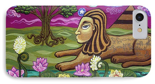 The Sphinx Phone Case by Genevieve Esson