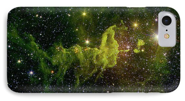 IPhone Case featuring the photograph The Spider And The Fly Nebula by NASA JPL - Caltech