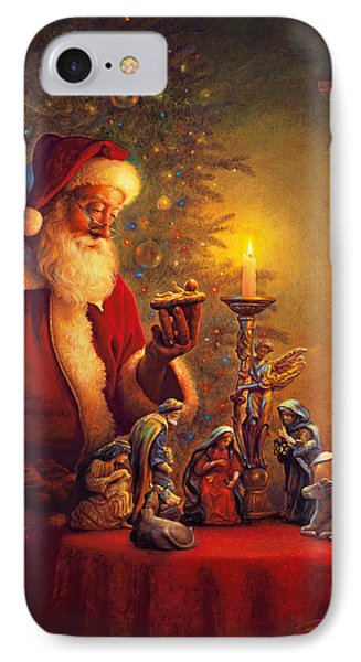 The Spirit Of Christmas IPhone Case by Greg Olsen