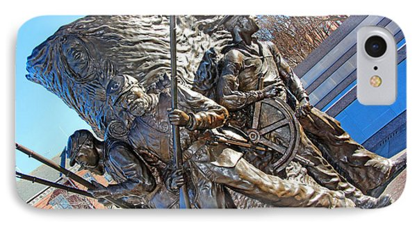The Spirit Of Freedom -- The African American Civil War Memorial IPhone Case