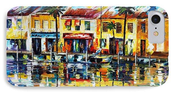 The Spirit Of Miami  Phone Case by Leonid Afremov