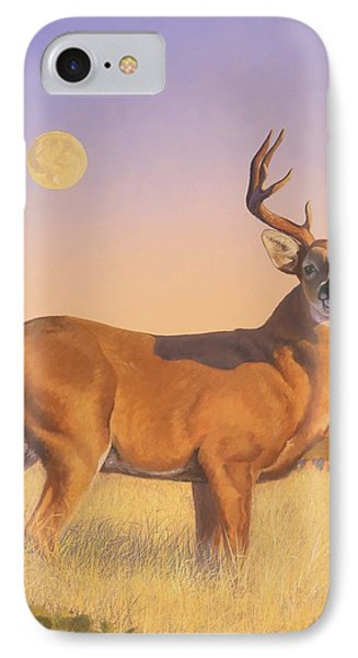 The Stag Phone Case by Howard Dubois