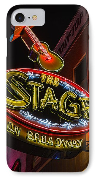 The Stage On Broadway IPhone Case by Stephen Stookey