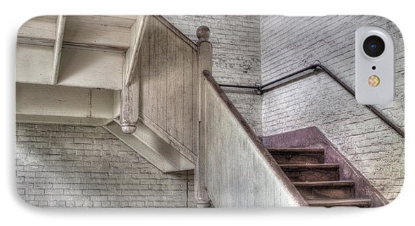 IPhone Case featuring the photograph The Stairs Horizontal by David Bishop