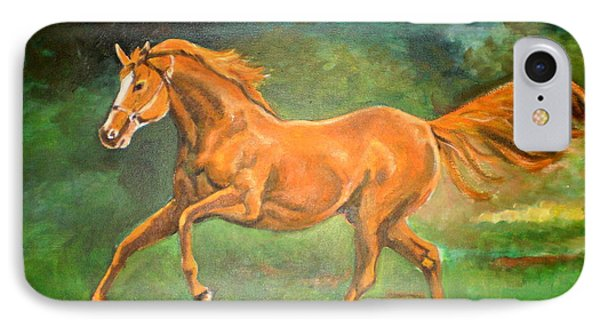 The Stallion-horse Art Painting  IPhone Case
