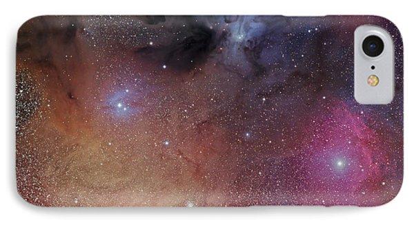 The Starforming Region Of Rho Ophiuchus Phone Case by Phillip Jones