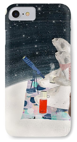 IPhone Case featuring the painting The Stargazers by Bri B