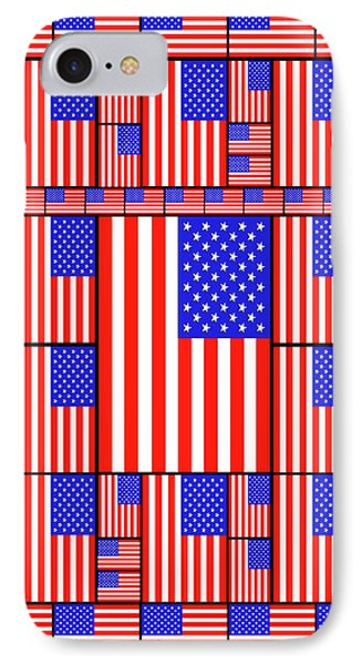 The Stars And Stripes 3 IPhone Case by Mike McGlothlen
