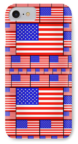 The Stars And Stripes 4 IPhone Case by Mike McGlothlen