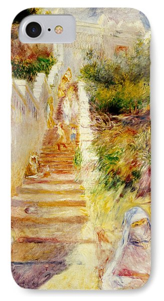 The Steps In Algiers IPhone Case by Pierre Auguste Renoir