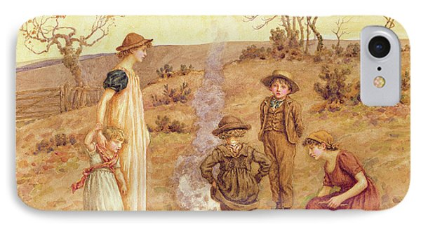 The Stick Fire IPhone Case by Kate Greenaway