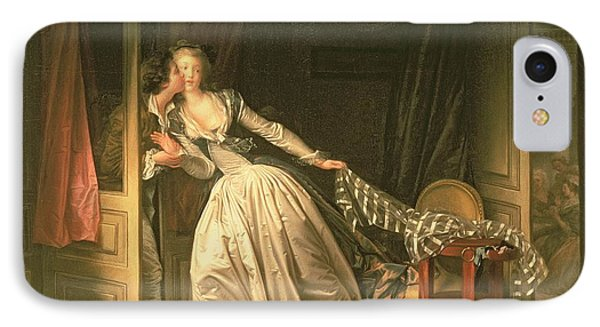 The Stolen Kiss Phone Case by Jean-Honore Fragonard