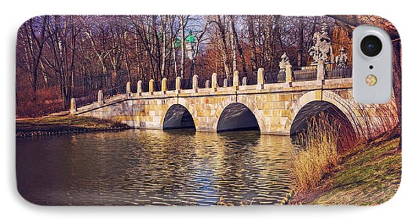 IPhone Case featuring the photograph The Stone Bridge In Lazienki Park Warsaw  by Carol Japp