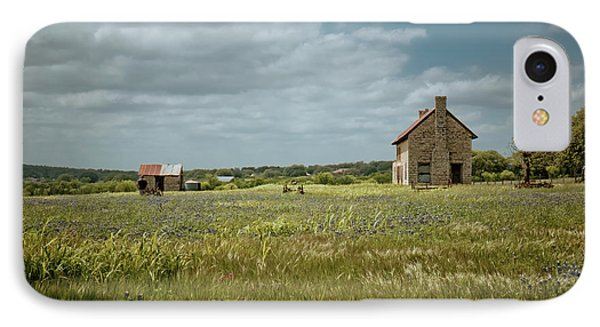 IPhone Case featuring the photograph The Stone House by Linda Unger
