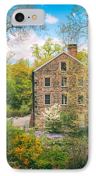 The Stone Mill In Spring IPhone Case by Jessica Jenney