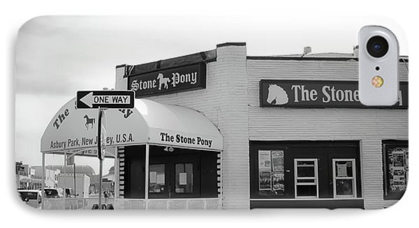 The Stone Pony - One Way IPhone Case by Colleen Kammerer