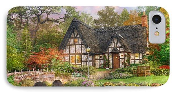 The Stoney Bridge Cottage IPhone Case by Dominic Davison