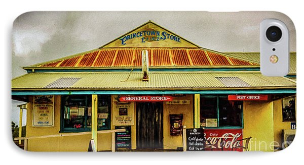 IPhone Case featuring the photograph The Store by Perry Webster