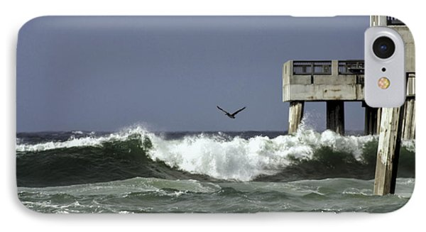 IPhone Case featuring the photograph The Storm  by Debra Forand