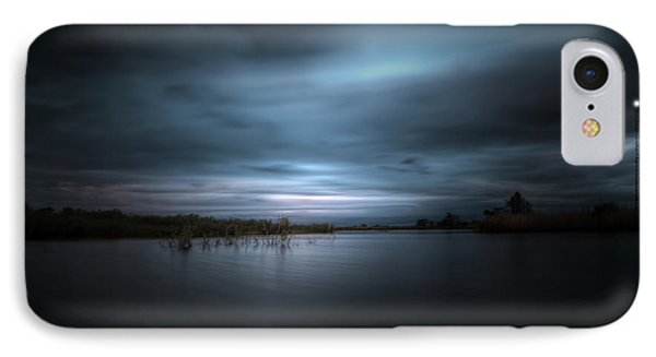 IPhone Case featuring the photograph The Storm by Mark Andrew Thomas