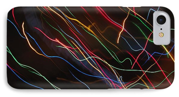 IPhone Case featuring the photograph The Storm Of Falling Stars. Dancing Lights Series by Ausra Huntington nee Paulauskaite