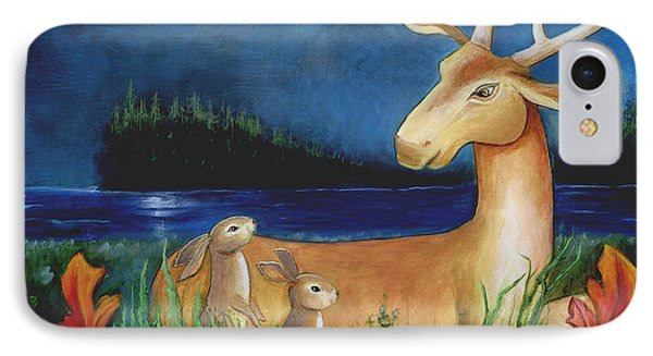 IPhone Case featuring the painting The Story Keeper by Terry Webb Harshman