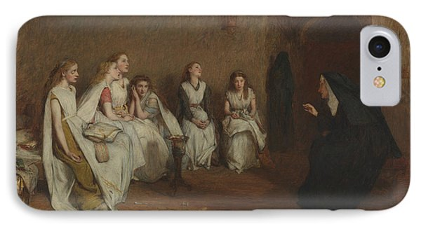 The Story Of A Life IPhone Case by William Quiller Orchardson