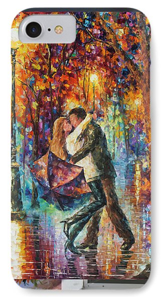 The Story Of The Umbrella Phone Case by Leonid Afremov