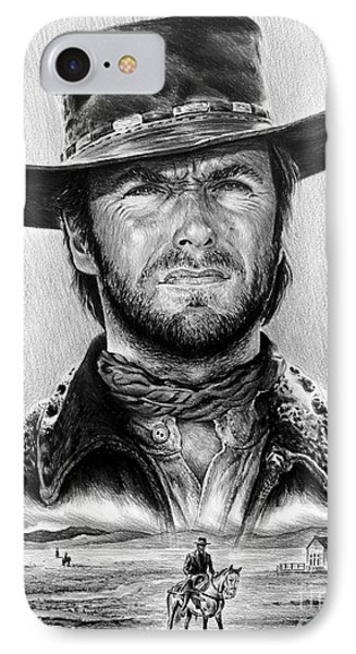 The Stranger Bw 1 Version Phone Case by Andrew Read