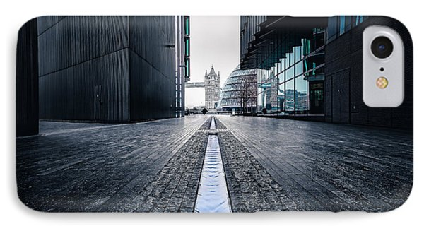 The Stream Of Time IPhone Case by Giuseppe Torre