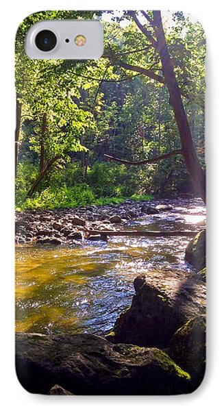 The Stream IPhone Case by Shawn Dall