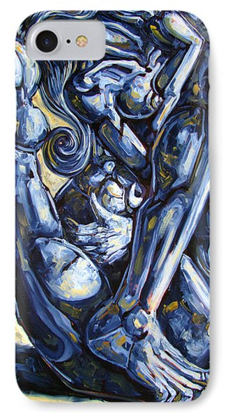The Struggle Phone Case by Darwin Leon