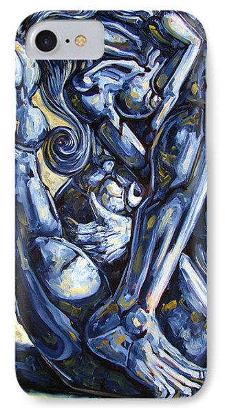 Nudes iPhone 7 Case - The Struggle by Darwin Leon