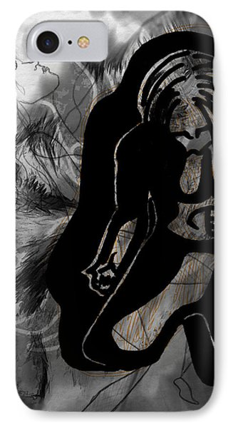 The Struggle Within IPhone Case by Sheila Mcdonald