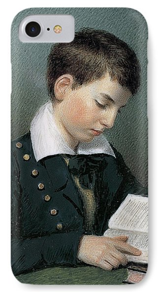 The Studious Youth. Master Edward Appleton IPhone Case by Sarah Goodridge