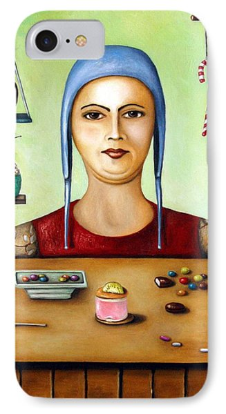 The Sugar Addict Phone Case by Leah Saulnier The Painting Maniac