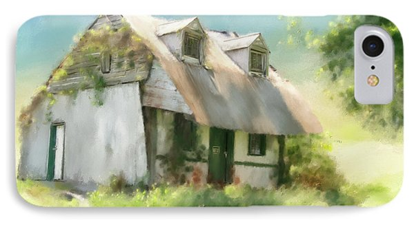 The Summer Cottage IPhone Case by Lois Bryan