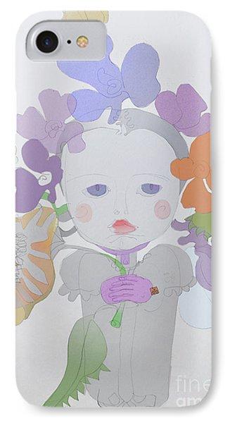 The Sun Flower Child Fairy Phone Case by Iordache Alice