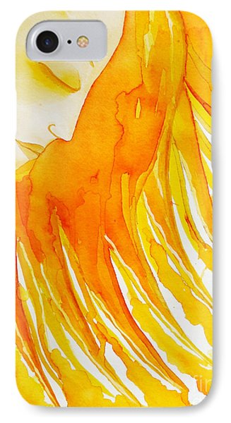 The Sun Goddess Phone Case by Jean Fry